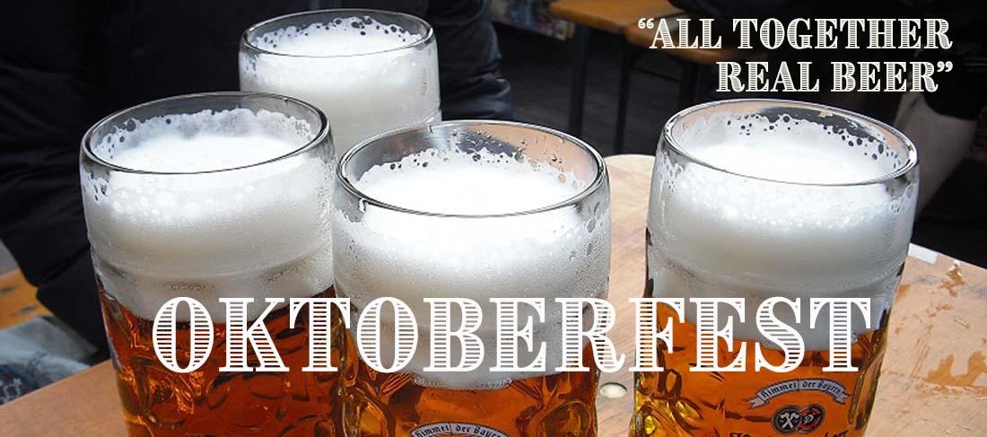 All Together Real Beer Oktoberfest Octoberfest Recipe