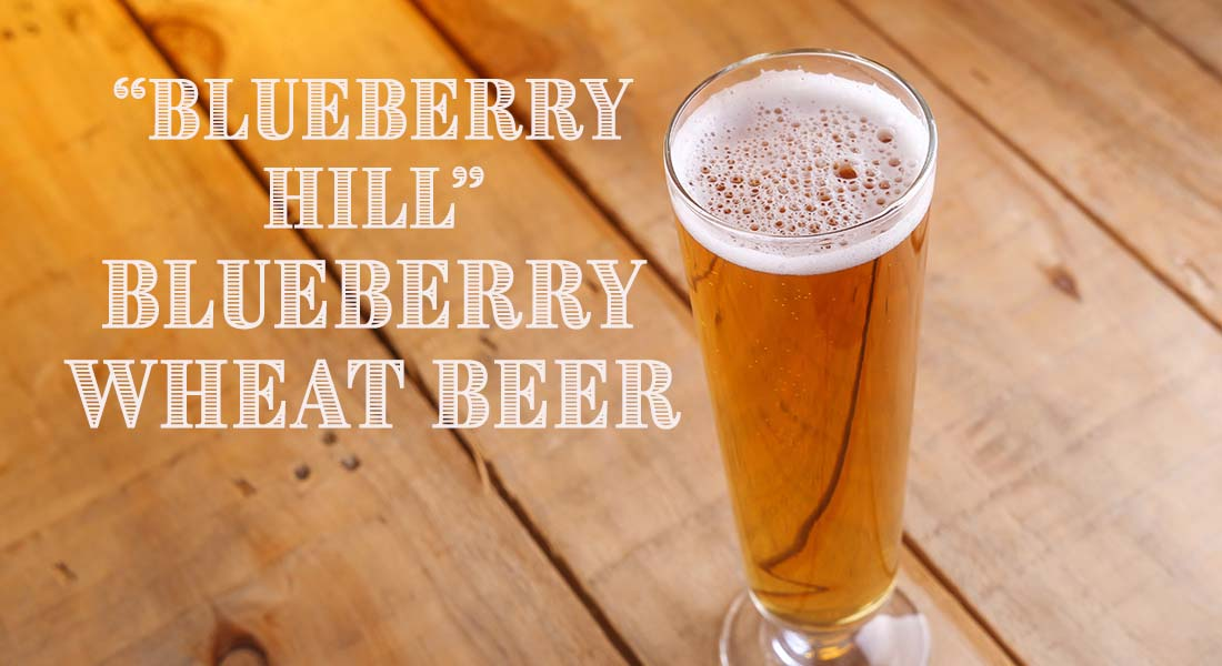 Blueberry Hill Blueberry Wheat Beer Recipe