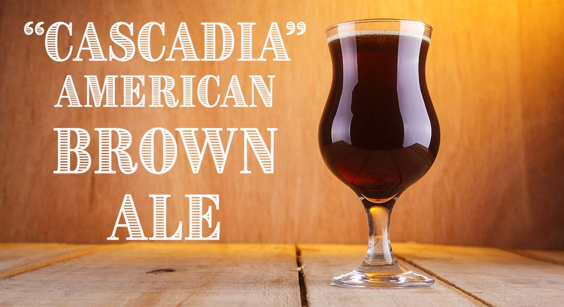 Cascadia American Brown Ale Recipe