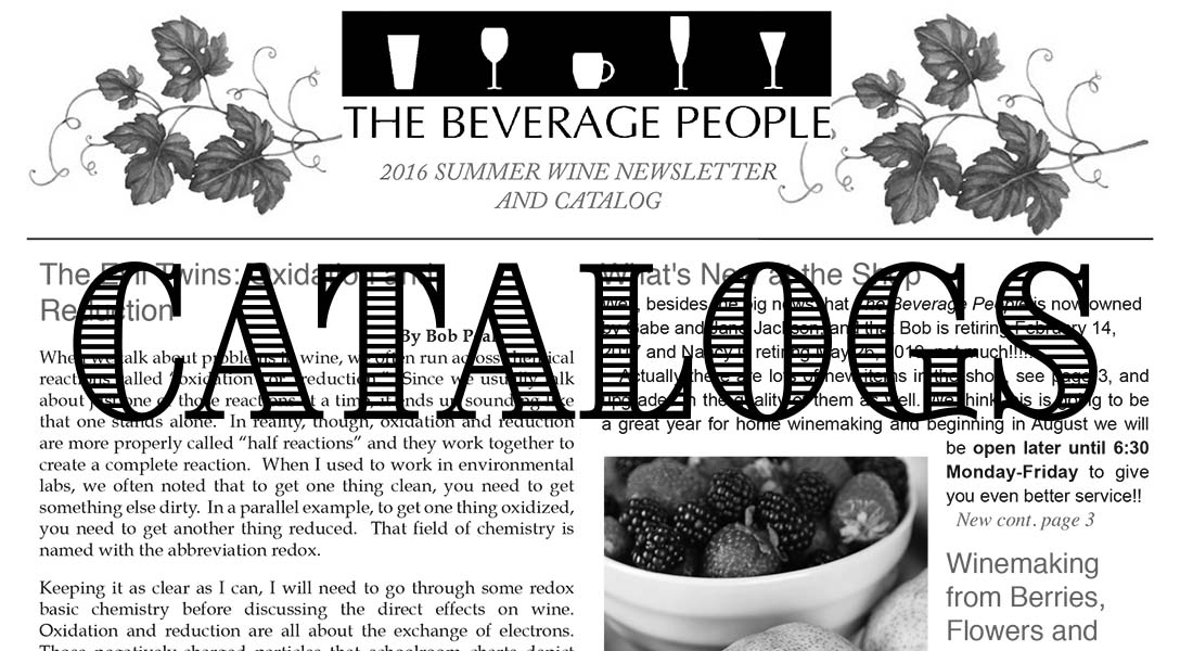 The Beverage People Catalogs
