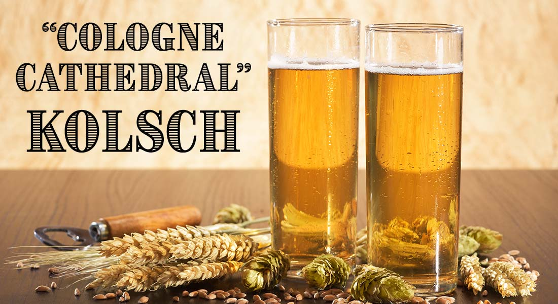 Cologne Cathedral Kolsch Recipe