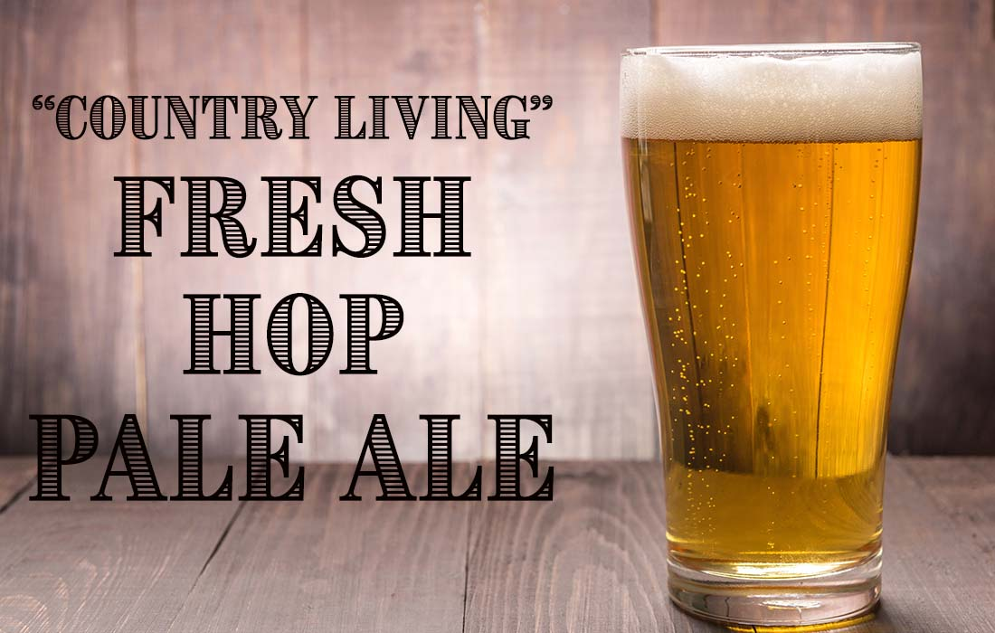 Country Living Fresh Hop Pale Ale Recipe