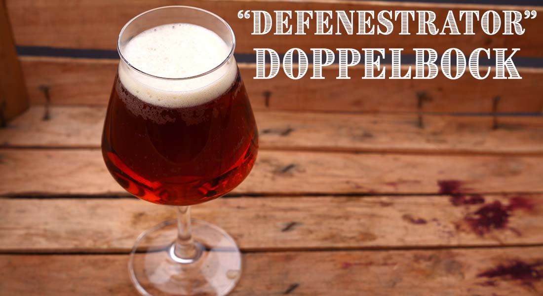Defenestrator Doppelbock Recipe