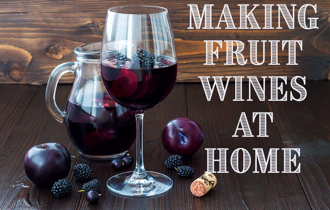 Making Fruit Wine at Home