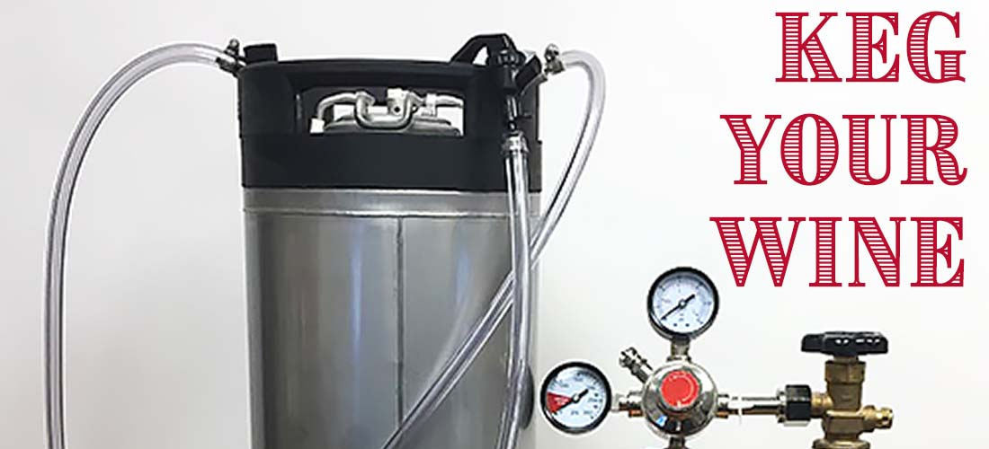 Keg Your Wine at Home