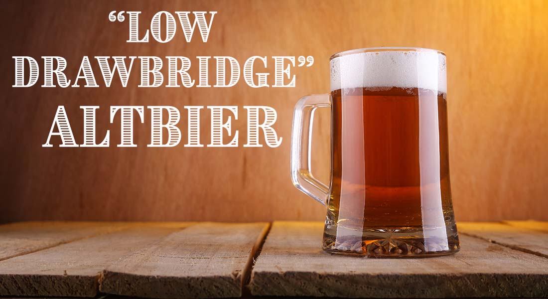 Low Drawbridge Altbier Alt Recipe