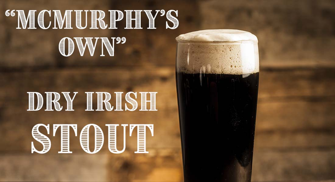 McMurphy's Own Dry Irish Stout Recipe