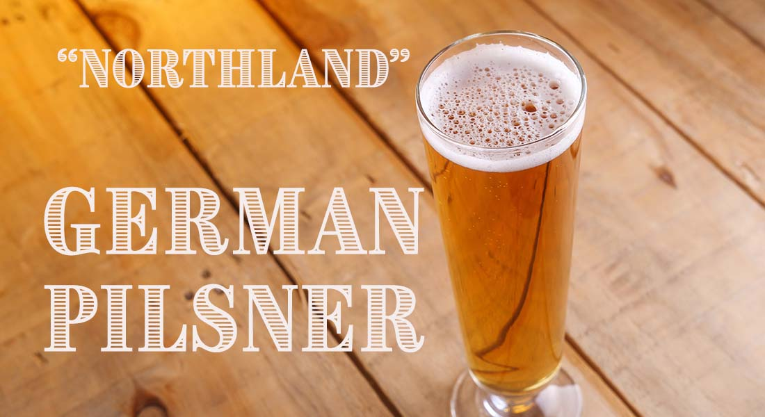 Northland German Pilsner Recipe