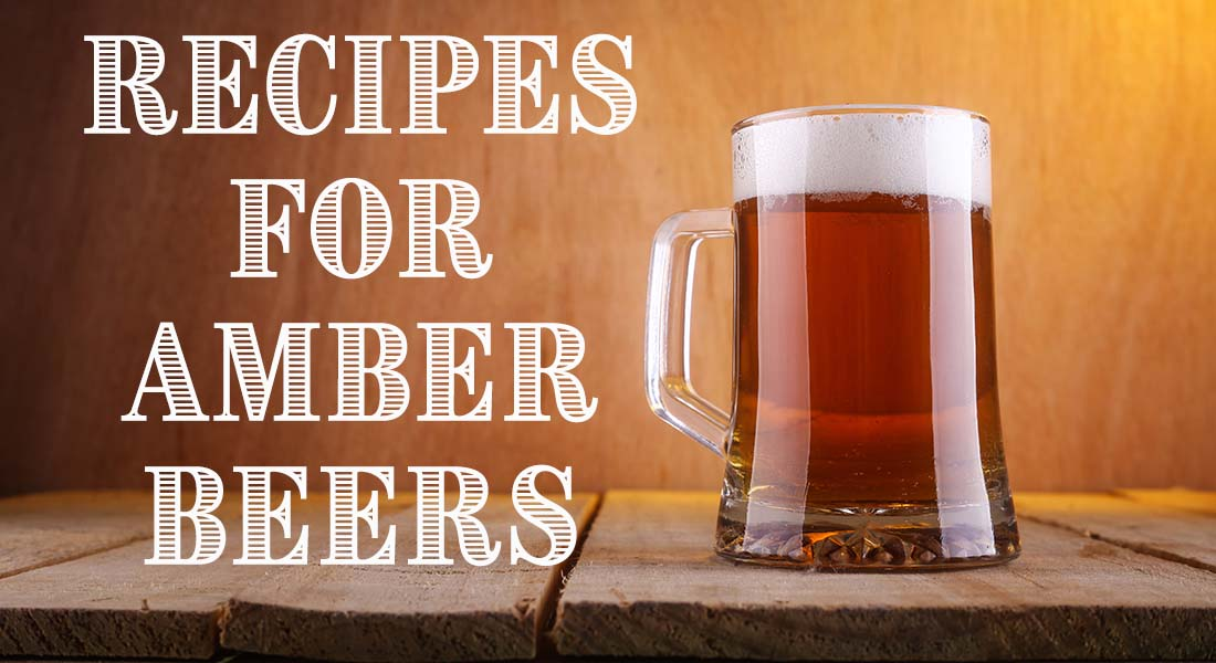 Recipes for Amber Beers