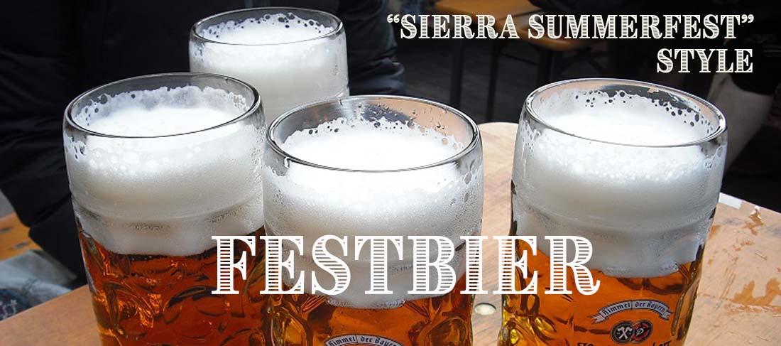 Sierra Summerfest Lager Festbier Recipe