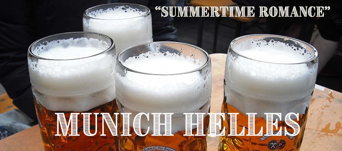 Summertime Romance Munich Helles Recipe