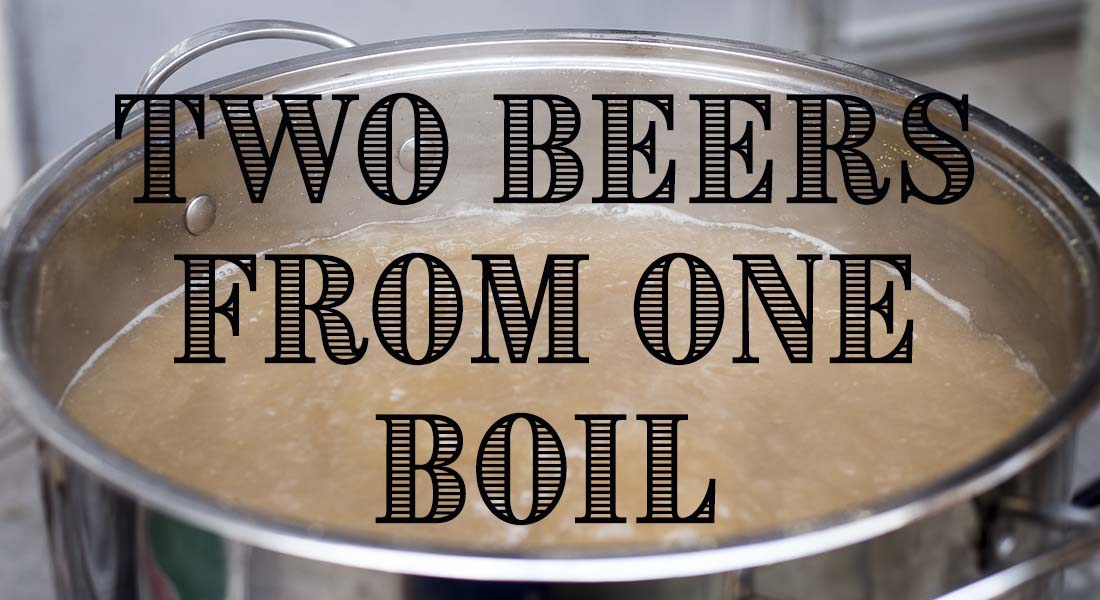 Two Beers From One Boil by Bob Peak