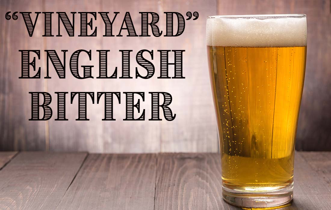 Vineyard English Bitter Ale Recipe