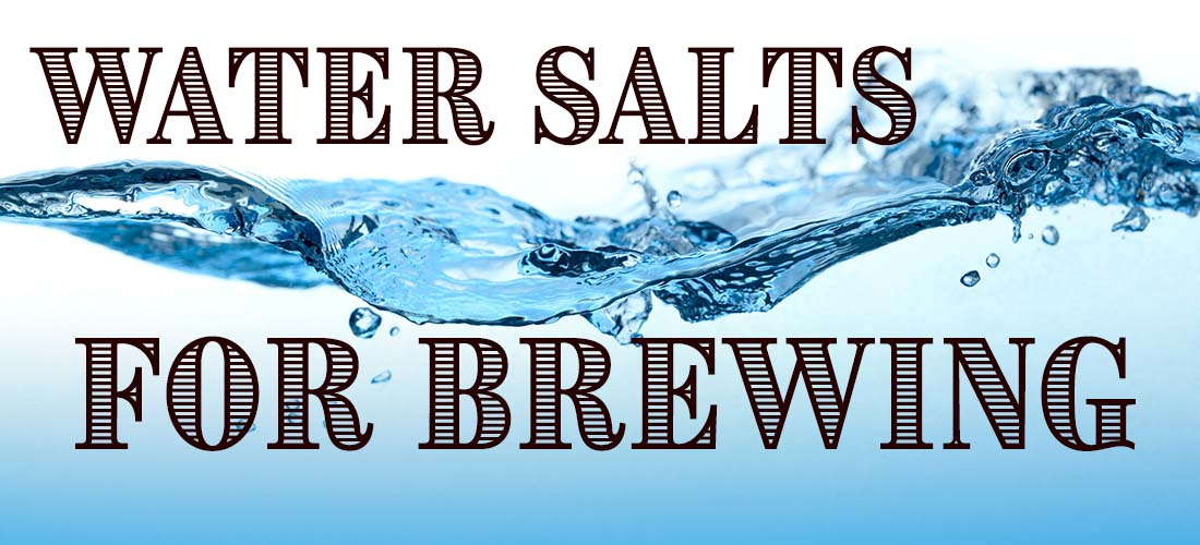 Using Water Salts for Brewing