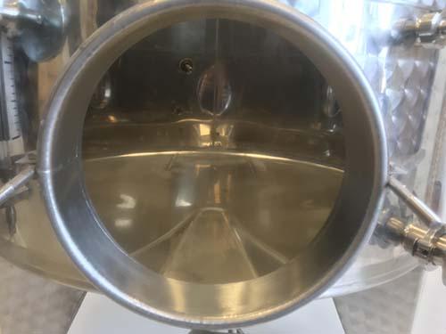 1000L+ Tank Accessory - Round Manhole