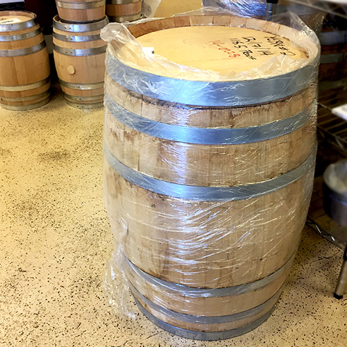 Oak Barrel, USED Bourbon Whiskey, American, charred, 30 gallons