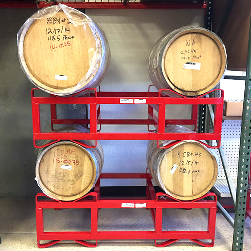 Barrel Rack - Holds Two 30 Gallon Barrels