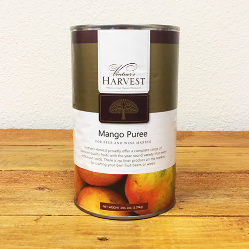 Mango Puree for Mango Melomel Recipe, Mango IPA recipe, or Mango Cider