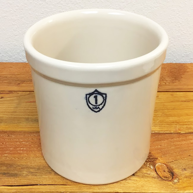 Ohio Stoneware Bristol Preserving Crock - 1 gallon