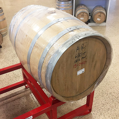 Oak Barrel, USED Rye Whiskey, American, charred, 30 gallons