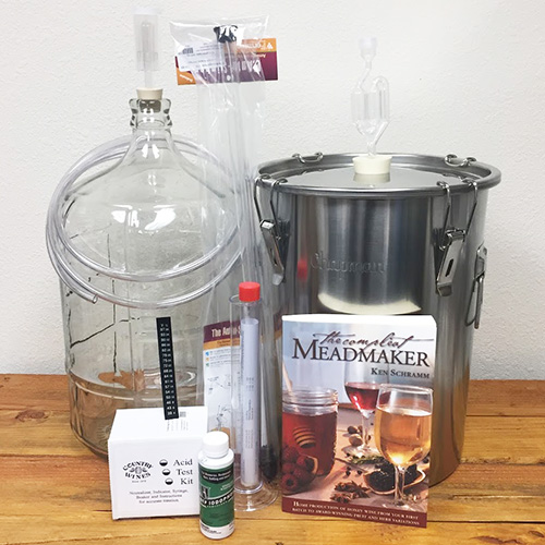 Mead Starter Kit, Mead Brewing Kit, Mead Equipment Kit