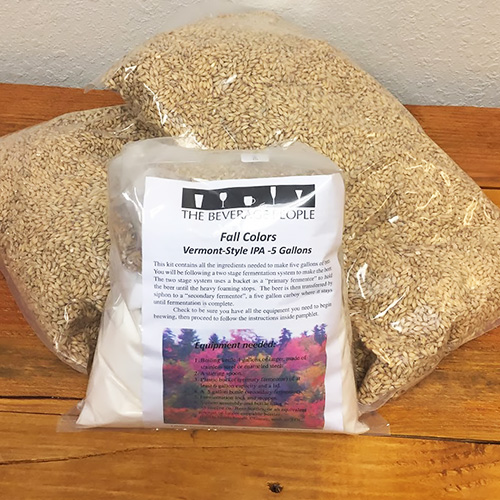 Fall Colors Vermont style IPA - All Grain Beer Kit