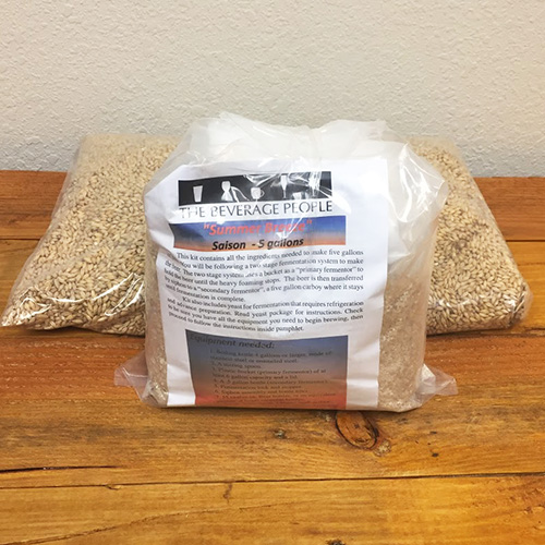 CANNOT SHIP DUE TO CARRIER DISRUPTIONS - Summer Breeze Saison - All Grain Beer Kit