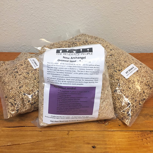 New Archangel Oatmeal Stout - All Grain Beer Kit