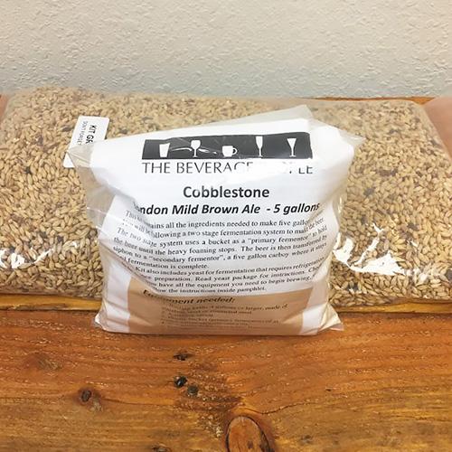 Cobblestone London Mild Brown Ale - All Grain Beer Kit