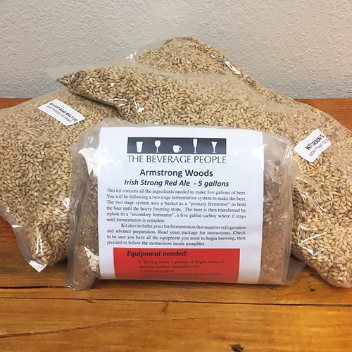 Armstrong Woods Irish Strong Red Ale - All Grain Beer Kit