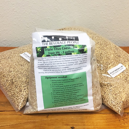 Triple Titus Caesar Triple IPA - All Grain Beer Kit