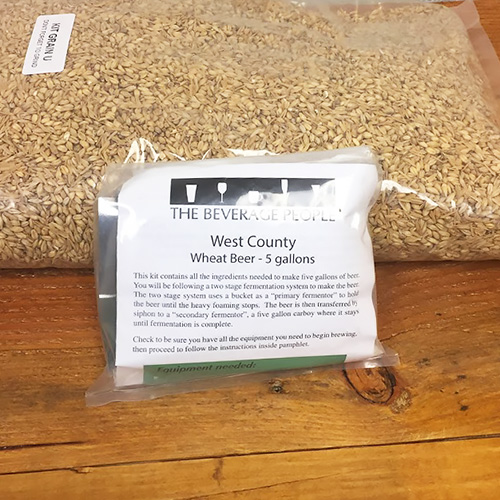 West County Wheat Beer - All Grain Beer Kit
