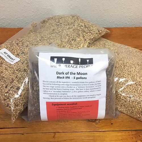 Dark of the Moon - Black IPA - All Grain Beer Kit - 5 gal