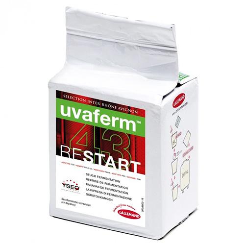 Uvaferm 43 RESTART - 500 g - Bulk Wine Yeast