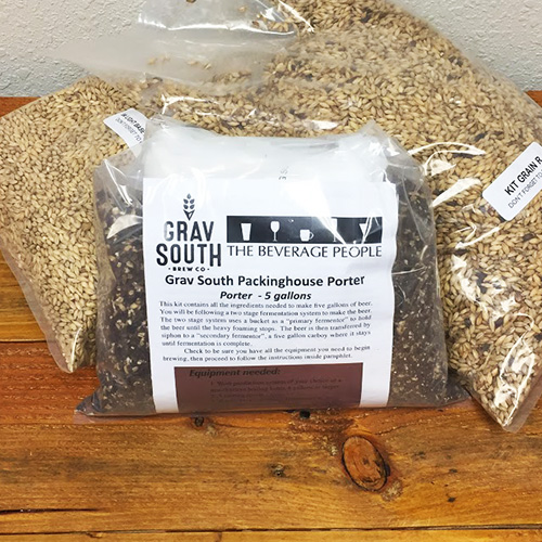 Grav South Packinghouse Porter All Grain Kit