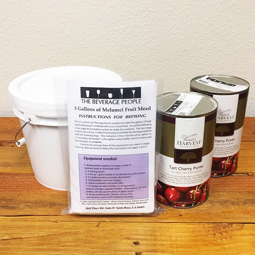 Tart Cherry Melomel Kit