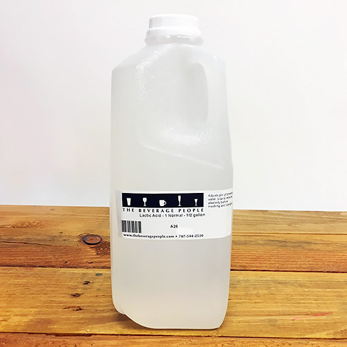 Lactic Acid - 1 Normal - 1/2 gallon