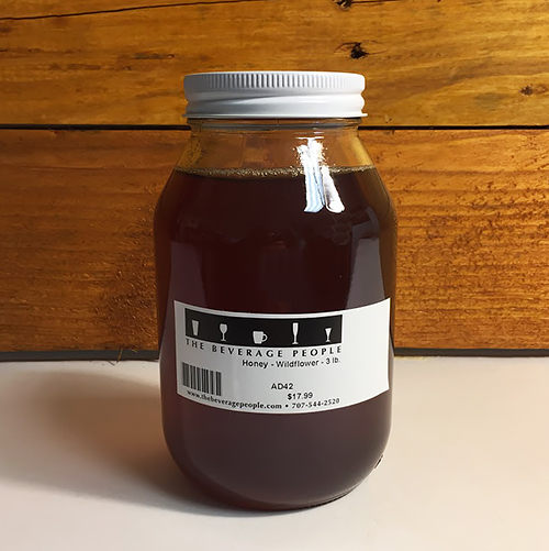 Wildflower Honey for Making Mead, Cyser, Melomel, Braggot, and Honey Beer