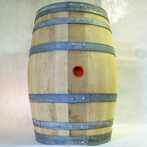 French Recoopered Oak Barrel - Medium Toast - 30 gal.