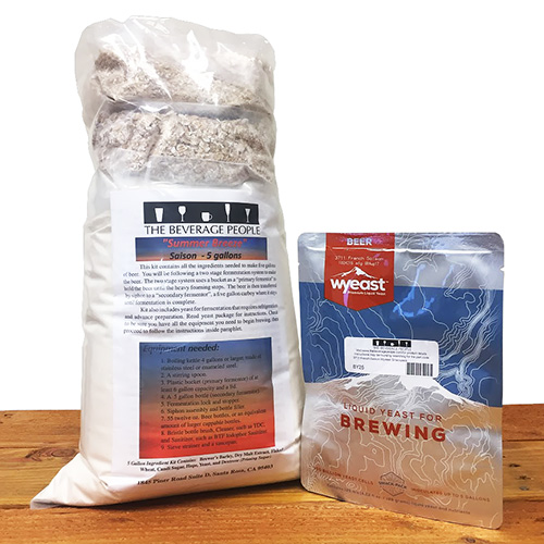 Summer Breeze Saison - 5 gallon Partial Mash Extract Beer kit w/ Wyeast 3711 French Saison Yeast