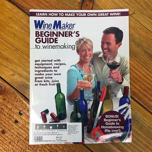Winemaker's and Home Brewer's Beginner's Guide from BYO magazine