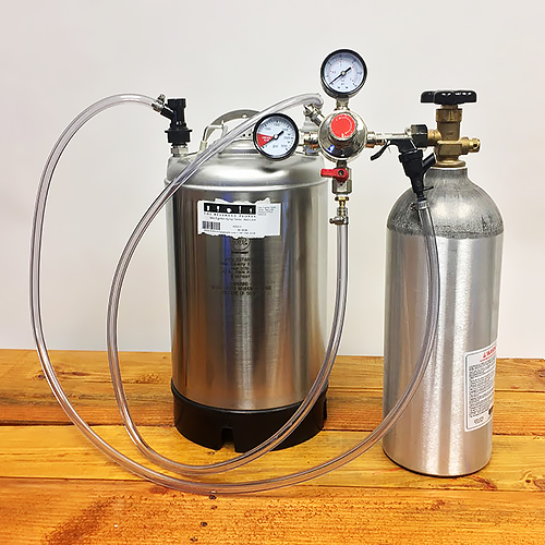 3 Gallon New Keg System