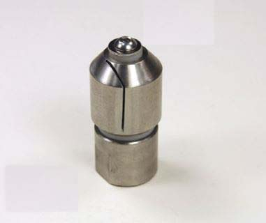 Spinning Barrel Washer Head ONLY - Stainless - 1/32