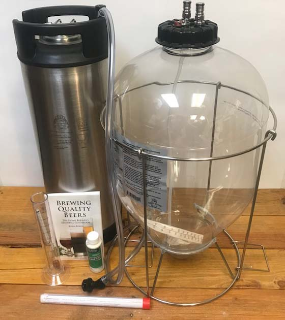 Beer-Ferment-Kit-with-Fermentasaurus-and-Keg