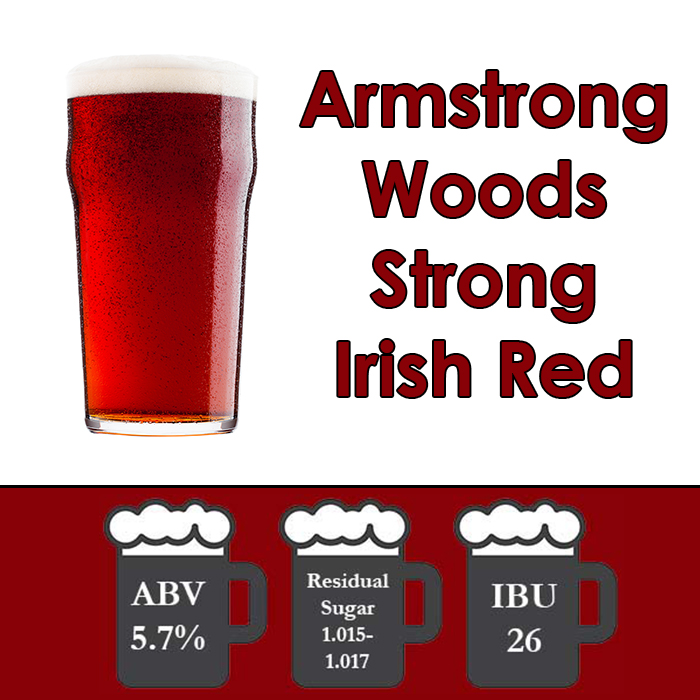 Armstrong Woods - Irish Strong Red Ale - All Grain Beer Kit - 5 gal