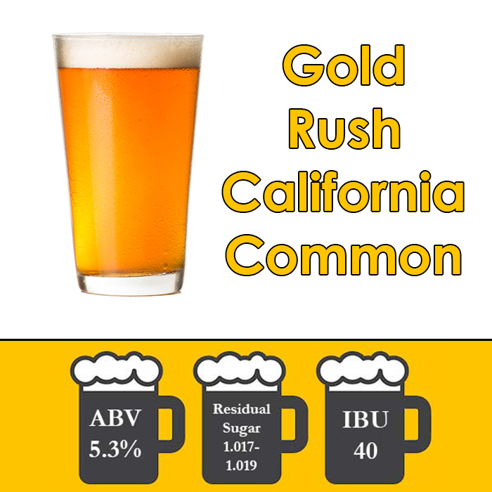 Beer-Recipe-Kit-Gold-Rush-California-Common