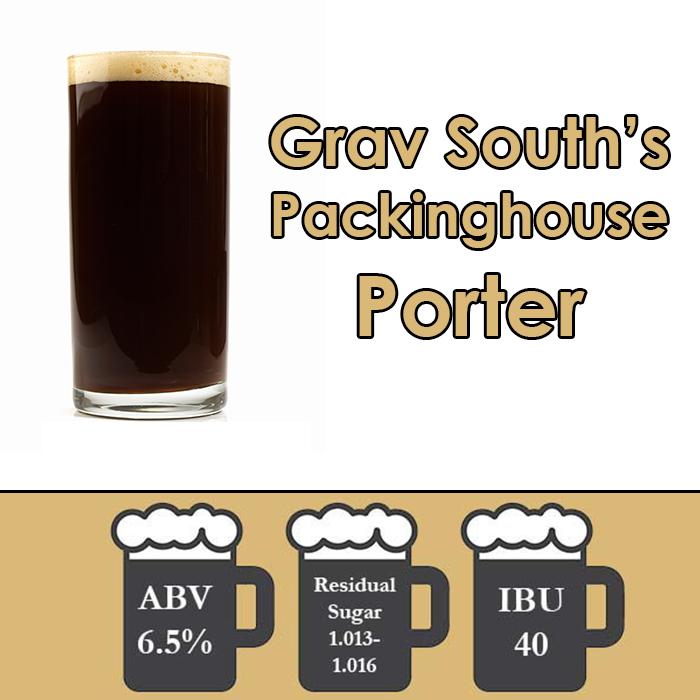 Grav South Packinghouse Porter Extract Kit