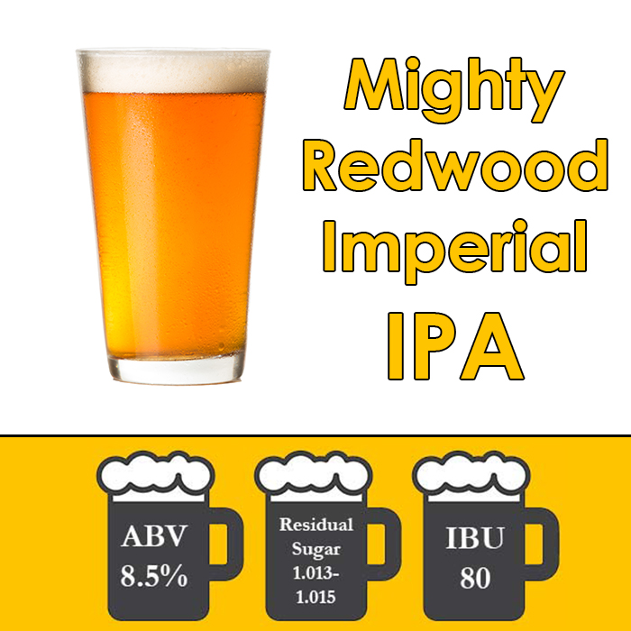 Beer-Recipe-Kit-Mighty-Redwood-Imperial-IPA