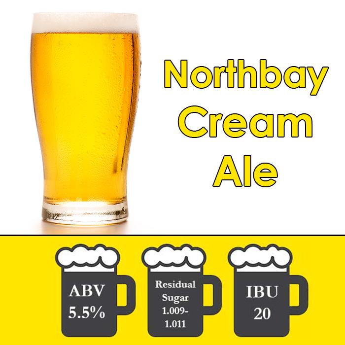 Northbay - Cream Ale - All Grain Beer Kit - 5 gal