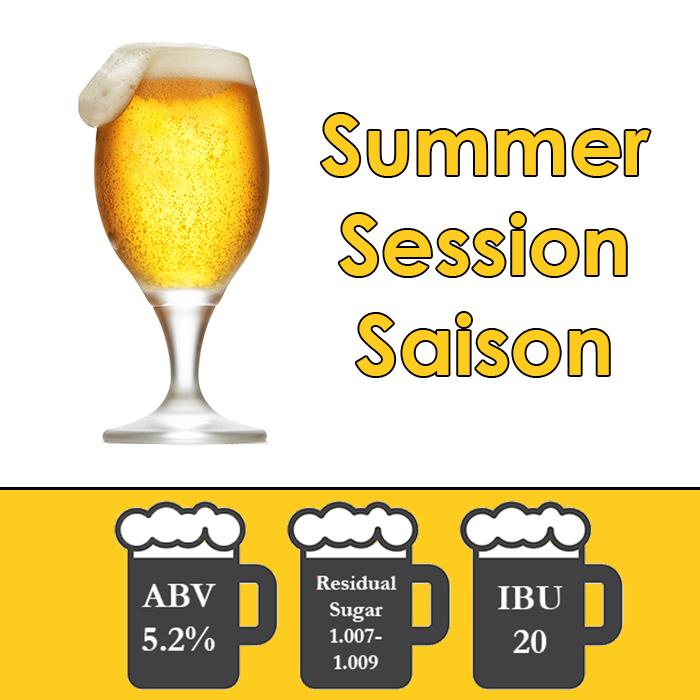 Summer Breeze - Saison - All Grain Beer Kit - 5 gal